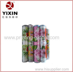 Paint bucket PP heat transfer printing film with strong adhesive