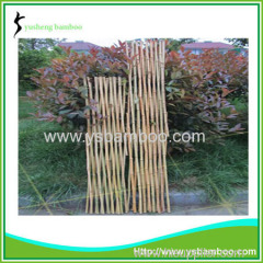 Bamboo garden lattice fence