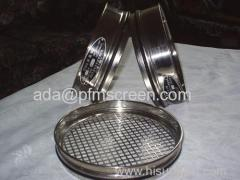laboratory metal mesh sieves