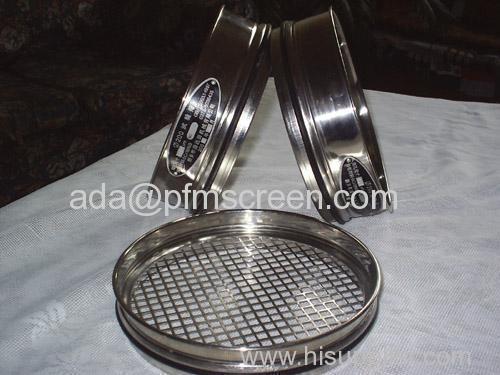 laboratory metal mesh sieves