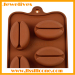 silicone chocolate mold and coffee shape
