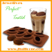 Silicone coffee shape ice cube