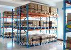 FIFO Heavy Duty Pallet Racking Detachable Goods Shelf With Box-shape Beam