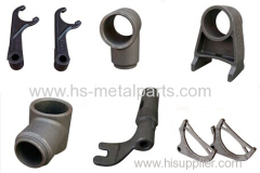 Investment casting for track