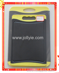 2PCS ANTIBACTERIAL PLASTIC CHOPPING BOARD SET