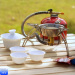 outdoor split windproof stove