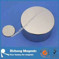 N50 Neodymium Magnet Strrngth D80 x 30mm Large Magnets for sale