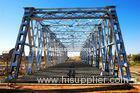 deck truss bridge steel beam bridge
