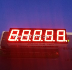 5 digit 7 segment;5 digit led display; 5 digits seven segment