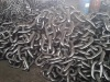 Top quality black tarred stud anchor chain with mill competitive price