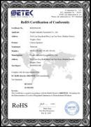 RoHS certificate for power mixer