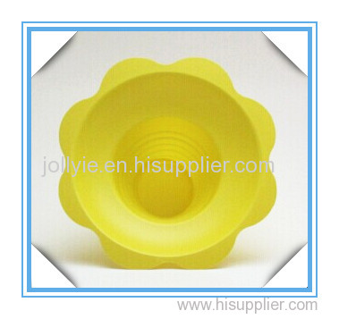 Hawaii yellow flower shaved ice cup 8oz