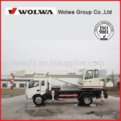 2014 Wolwa Brand New 12 Ton Hydraulic Mobile Truck Crane for Sale