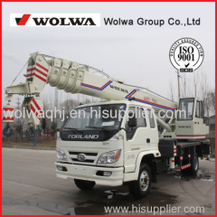 Wolwa 10 ton Truck Crane with low price for sale