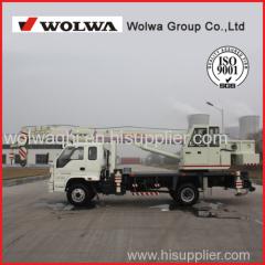 Direct manufacturers 8 ton hydraulic truck crane 360 degrees