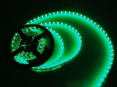 Green 5050 SMD LED strip lights waterproof