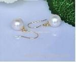 Silver Freshwater Pearl Earring