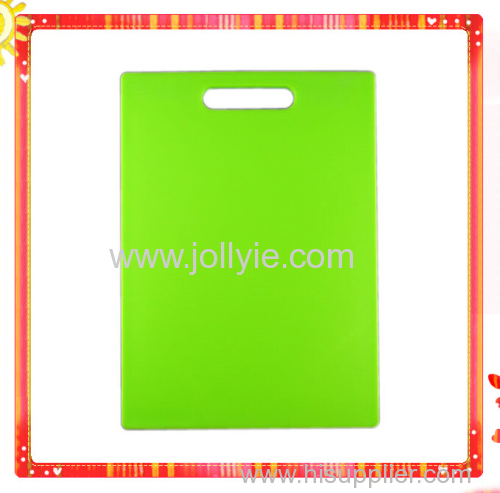 COLORFUL VEGETABLE PLASTIC CUTTING BOARDS