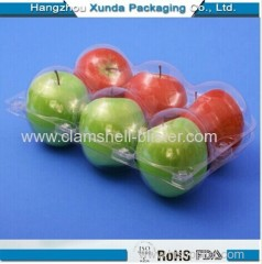 Disposable fruit packaging container