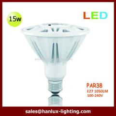 15W 1050lm PAR38 E27 bulb