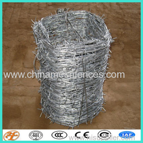 factory supply galvanized barbed wire