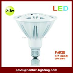 20W 1400lm PAR38 E27 bulb