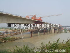 Temporary Bailey Steel bridge