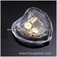 Acrylic Transparent Plastic Music Box