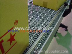 pitch 30mm oil resistant plastic modular mobile conveyor belt supplier