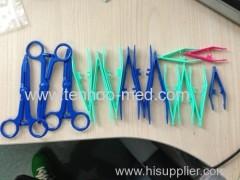 plastic tweezer/disposable tweezer/medical plastic tweezer/medical tweezer