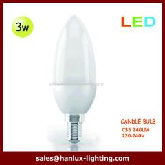 3W 240lm C35 globe bulb