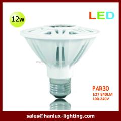 12W 840lm PAR30 E27 bulb