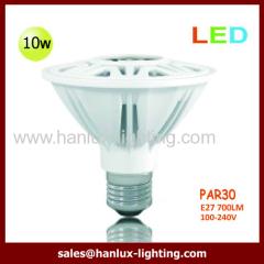 10W 700lm PAR30 E27 bulb