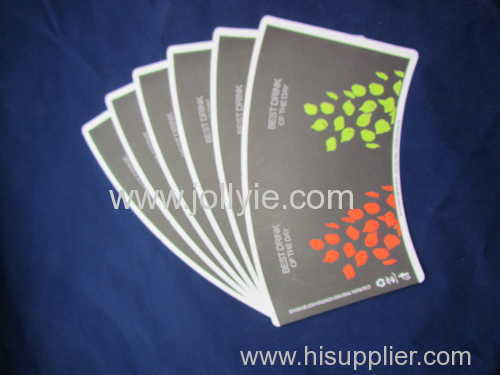 High quality cup stock paper cup body paper cup wall