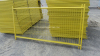 Infilled Mesh Framed Fence Panel