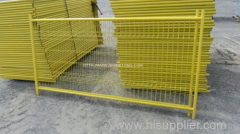 Framed Mesh Panel Fence