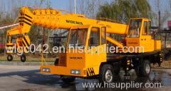 china cheap 10 ton homemade truck crane
