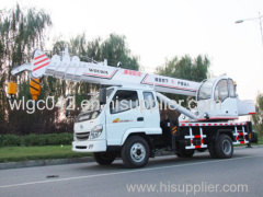 china mini truck crane hot sale with attractive price and very good performance