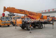 mini small truck crane homemade type very strong and safe strengthen type