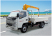 good quality and high performance mini truck crane chian wolwa group