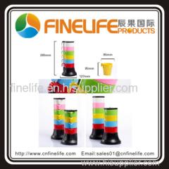 High quality rainbow cups set