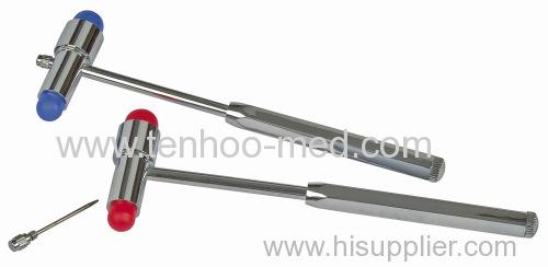 medical hammer/reflex hammer/neurological hammer/percussion hammer/surgical hammer