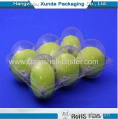 Blister packaging fruit container