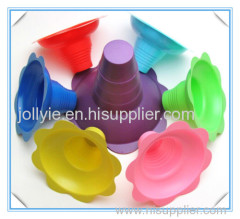plastic colorfu Hawaii sno cone supplier
