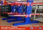 Industrial Warehouse single sided Cantilever Storage Racks ISO / TUV