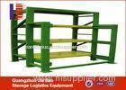 Green / Blue Metal Heavy Duty Steel Storage Racks Mold Shelf For Warehouse
