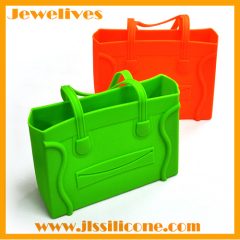 Popular Protable Silicone Storage Bag For Woman Handbag