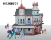 plastic castle for toys with superior quality