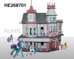plastic castle for toys