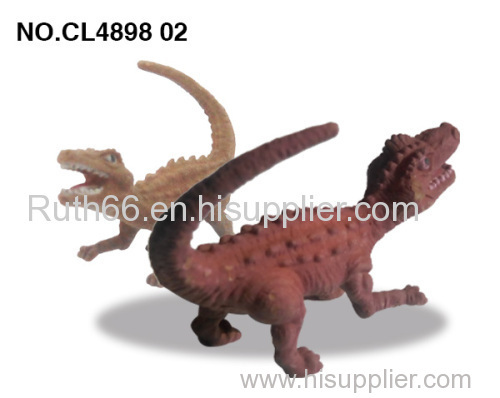 2014 new product Plastic color change dinosaur Market in China